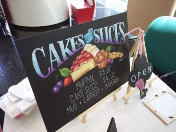 ケーキ看板